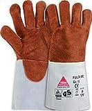 strongAnt Fulda - Gants de soudure ISO avec isolation complète de la main, fendu de vachette...
