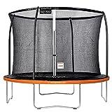 GREADEN Trampoline de Jardin Freestyle Orange 305 Fitness extérieur Ø 305cm - Filet de...