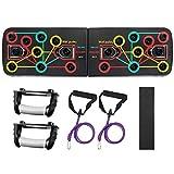 COLFULINE Push Up Board Pliable Cadre d'entraînement Push-up Rack Portable Tableau de Fitness...