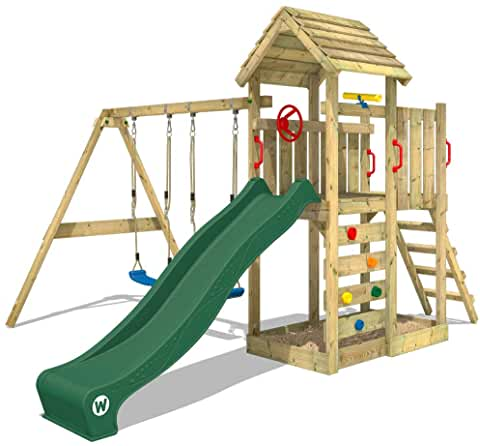 aires de jeux en bois