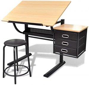 choisir meilleure table bureau à dessin