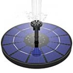 meilleure fontaine solaire